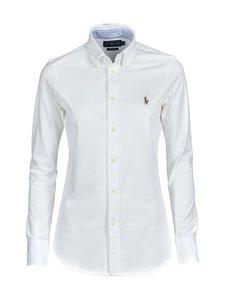 Polo Ralph Lauren - Heidi Skinny Long Sleeve -paitapusero - WHITE | Stockmann