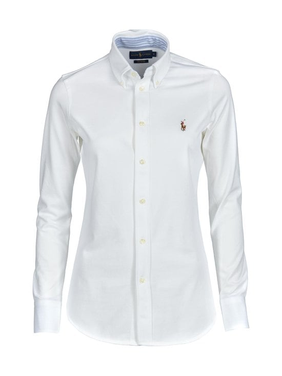 Polo Ralph Lauren - Heidi Skinny Long Sleeve -paitapusero - WHITE | Stockmann - photo 1