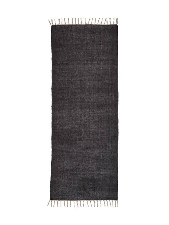 Casa Stockmann - Coal-puuvillamatto 80 x 200 cm - BLACK | Stockmann - photo 1