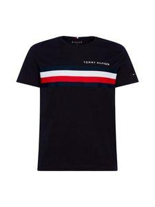 Tommy Hilfiger - Global Stripe Tee -paita - DW5 DESERT SKY | Stockmann
