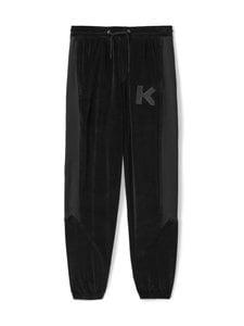 Kenzo - Velvet Mix -housut - 99 BLACK | Stockmann