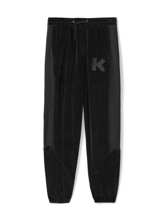 Kenzo - Velvet Mix -housut - 99 BLACK | Stockmann - photo 1