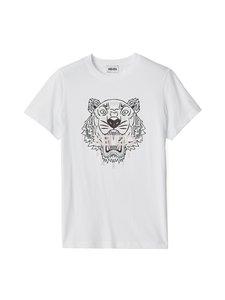 Kenzo - Classic T-Shirt Tiger -paita - 01 - LIGHT SINGLE JERSEY CLASSIC TI - WHITE | Stockmann