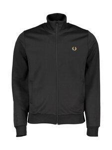 Fred Perry - Arch Branded Track Jacket -verryttelytakki - 102 BLACK | Stockmann