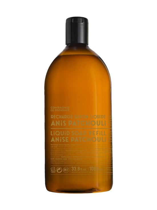 Compagnie de Provence - Version Originale Anise Patchouli -nestesaippua, täyttöpakkaus 1 l - null | Stockmann - photo 2