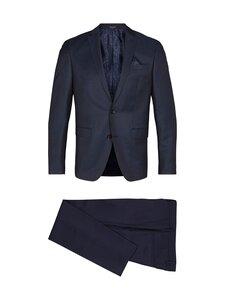 SAND Copenhagen - Star Napoli Craig Normal Suit -puku - 580 MEDIUM BLUE   Stockmann