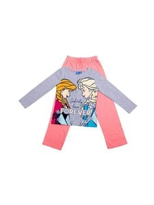 Frozen - Pyjama - FRZ-3-2166/9012+9600 GREY MEL./FLAMINGO PINK | Stockmann