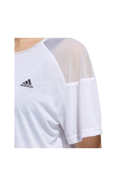 adidas Performance - Unleash Confidence Tee -paita - WHITE/BLACK | Stockmann - photo 4