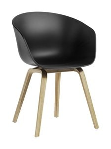 HAY - About A Chair AAC 22 ECO -tuoli - BLACK | Stockmann