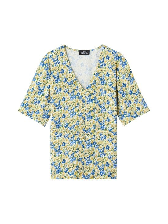 A.P.C - Lina Blouse -pusero - JAUNE CLAIR | Stockmann - photo 1