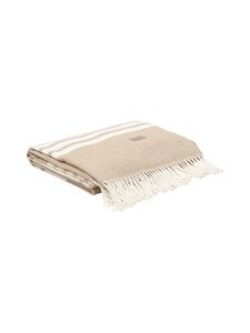 Gant Home - Tape Stripe Throw -torkkupeitto - 261 DESERT BROWN | Stockmann