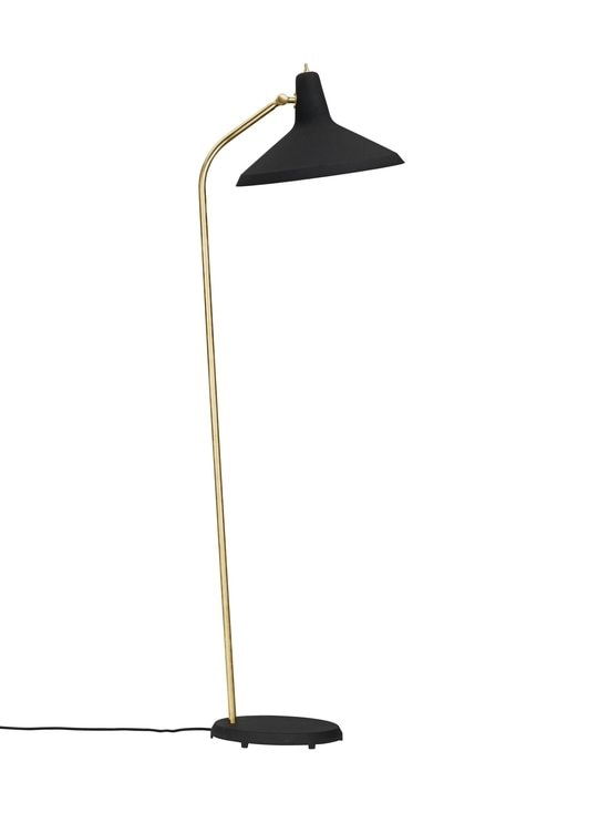 Gubi - G-10 Floor Lamp -lattiavalaisin - BLACK ROUGH | Stockmann - photo 3