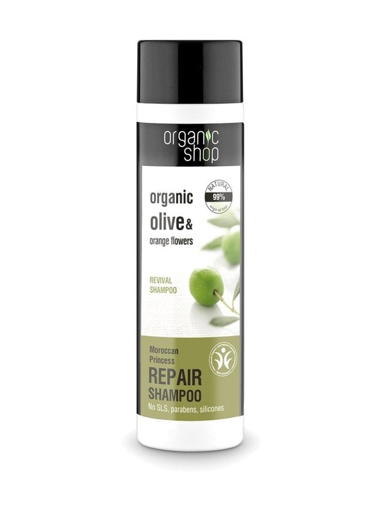 Organic Shop - Olive & Orange Flower Moroccan Princess Shampoo 280 ml - null | Stockmann - photo 1