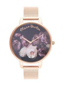 OLIVIA BURTON - Fine Art Rose Gold Mesh -rannekello - ROSEGOLD   Stockmann
