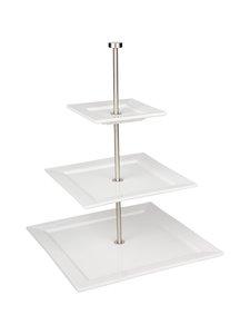 Asa - Quadrato-kerrosvati 45 cm - VALKOINEN | Stockmann