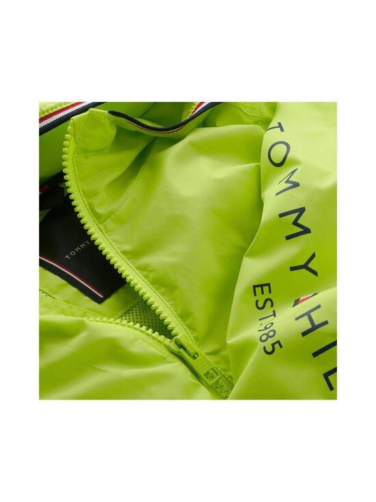 Tommy Hilfiger - Essential Hooded Logo Jacket -takki - LT4 SOUR LIME | Stockmann - photo 3