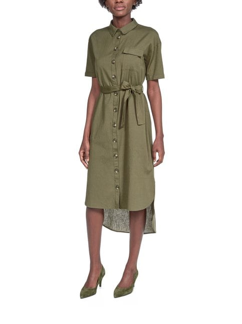 NmLine Shirt Dress -mekko