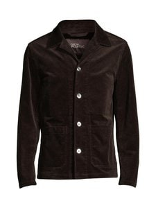 Oscar Jacobson - Hampus Overshirt -paita - 510 DARK BROWN | Stockmann
