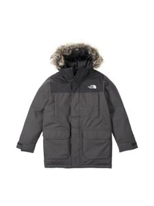 The North Face - B McMurdo Parka -untuvatakki - 7D11 ASPHALT GREY HEATHER | Stockmann