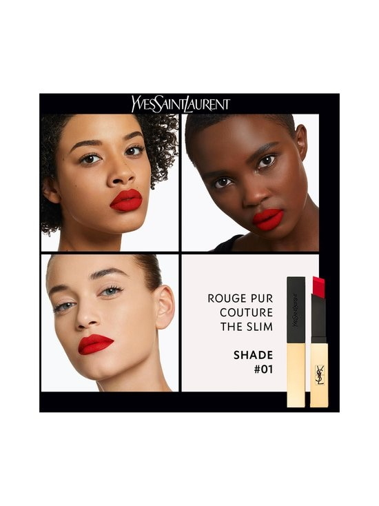 Yves Saint Laurent - Rouge Pur Couture The Slim Lipstick -huulipuna - 1 ROUGE EXTRAVAGANT   Stockmann - photo 6
