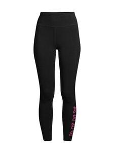 DKNY Sport - Glow Logo High Waist -leggingsit - BLK BLACK | Stockmann