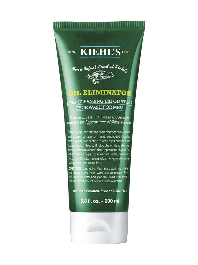 Men's Oil Eliminator Deep Cleansing Exfoliating Face Wash -kasvojenpesuaine 200 ml