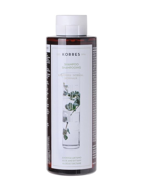 Korres - Aloe & Dittany -shampoo 250 ml - null | Stockmann - photo 1