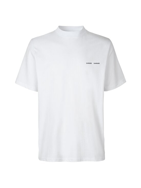 Samsoe & Samsoe - Norsbro T-shirt -paita - 10000 WHITE | Stockmann - photo 1