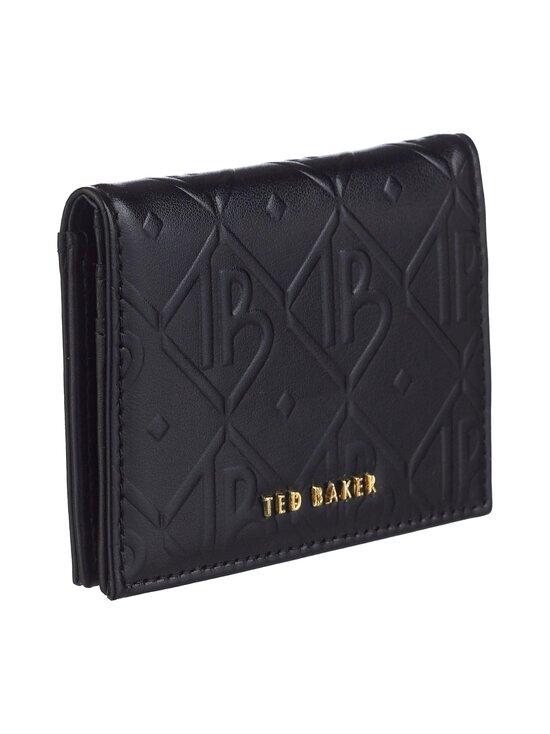 Ted Baker London - Ronaak TB Monogram Oyster Card Holder -korttikotelo - 00 BLACK | Stockmann - photo 2
