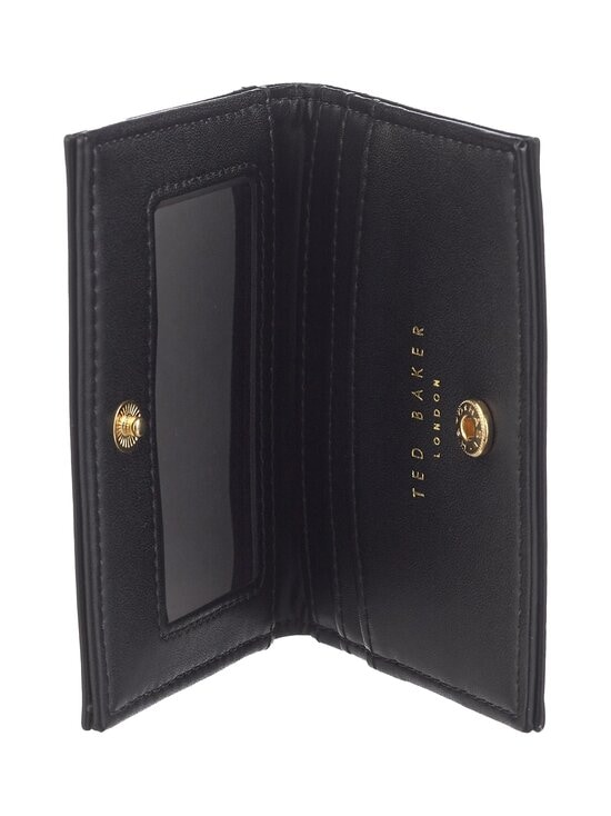 Ted Baker London - Ronaak TB Monogram Oyster Card Holder -korttikotelo - 00 BLACK | Stockmann - photo 4