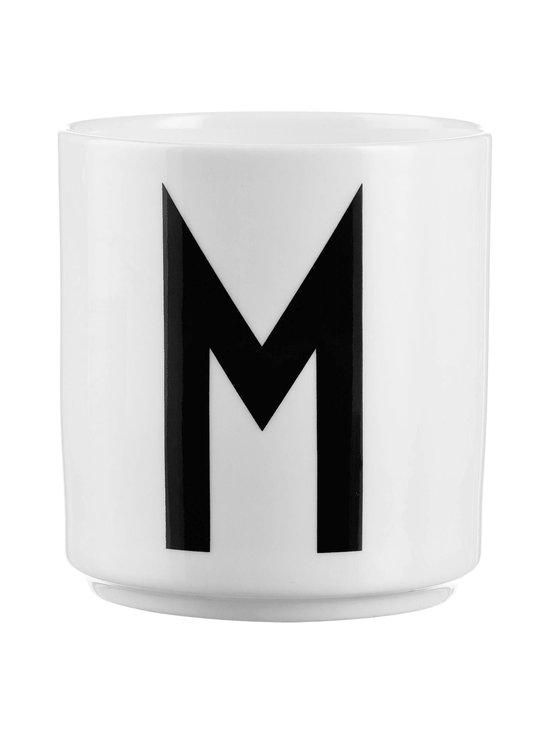 Design Letters - Kirjainmuki, M - VALKOINEN/MUSTA | Stockmann - photo 1