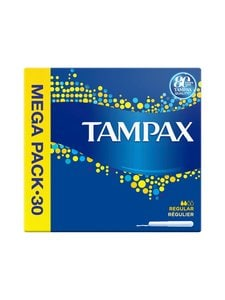 Tampax - Regular Value Pack Tampon -tamponi 30 kpl - null | Stockmann