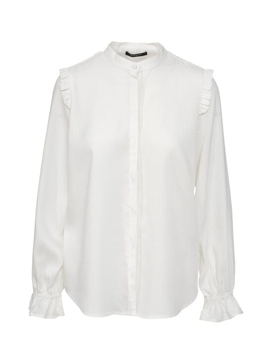 BRUUNS BAZAAR - Pralenza Maribella Shirt -pusero - SNOW WHITE | Stockmann - photo 1