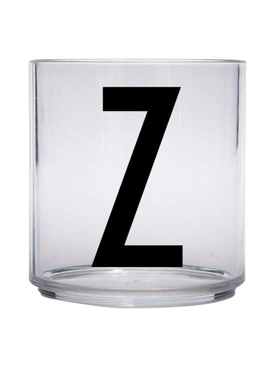 Design Letters - Kids Personal Drinking Glass -juomalasi, Z - KIRKAS | Stockmann - photo 1