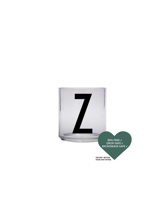 Design Letters - Kids Personal Drinking Glass -juomalasi, Z - KIRKAS | Stockmann - photo 2