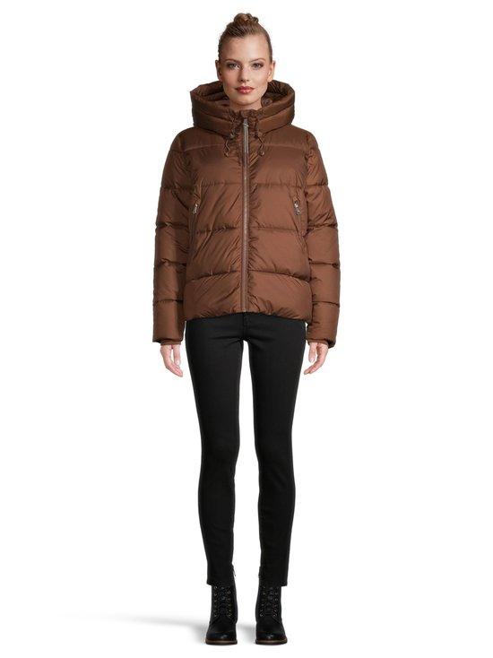 Short Puffer Jacket -toppatakki