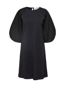 Selected Curve - Slffoka 3/4 Knee Dress Curve -mekko - BLACK | Stockmann