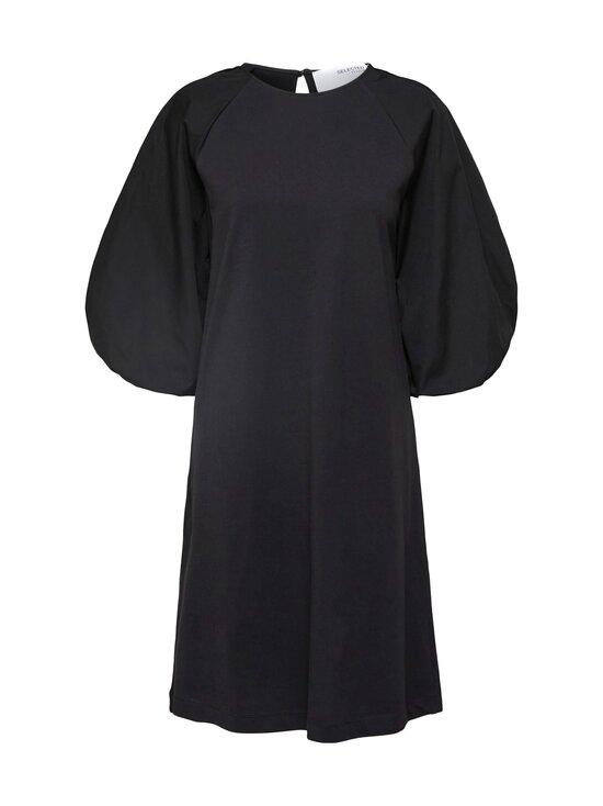 Selected Curve - Slffoka 3/4 Knee Dress Curve -mekko - BLACK   Stockmann - photo 1