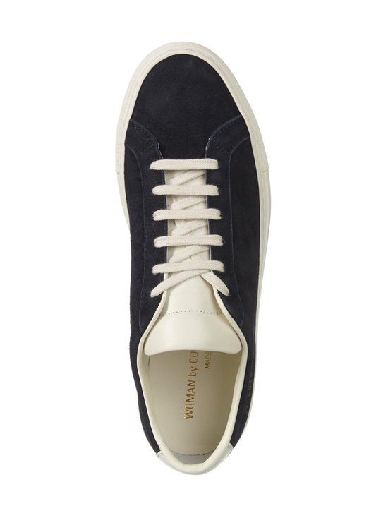 COMMON PROJECTS - Achilles Suede Contrast -nahkatennarit - 4928 NAVY | Stockmann - photo 2