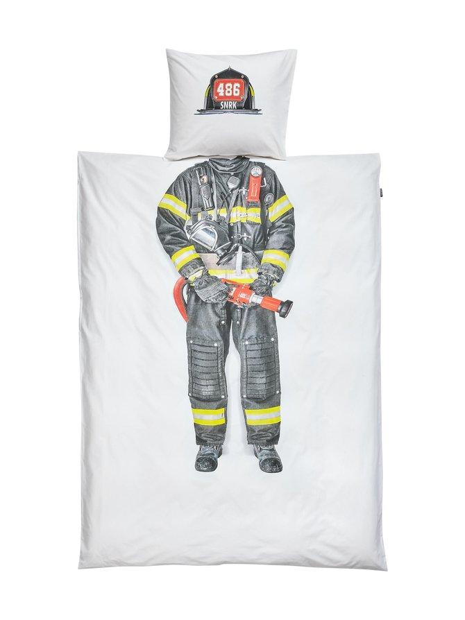 Firefighter-pussilakanasetti 150 x 210 + 50 x 60 cm