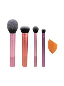 Real Techniques - Everyday Essentials Make Up Brush Set -sivellinsetti, 5 osaa | Stockmann