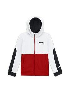 Nike - Air Hoodie -hupparitakki - WHITE/UNIVERSITY RED/BLACK/BLACK | Stockmann