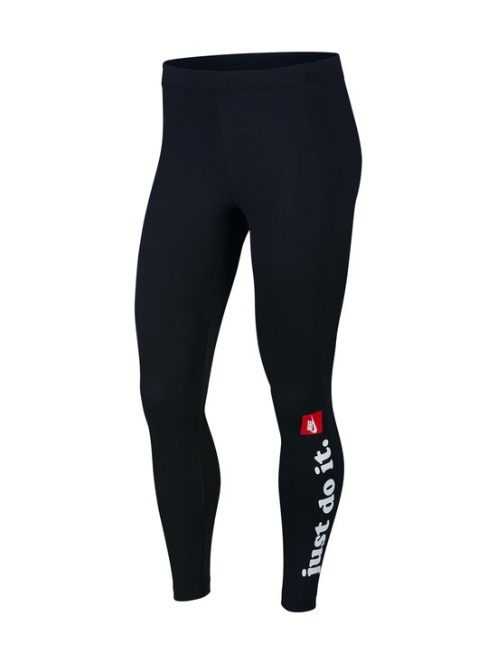 Nike - W Sportswear Club -leggingsit - 010 BLACK/WHITE | Stockmann - photo 1