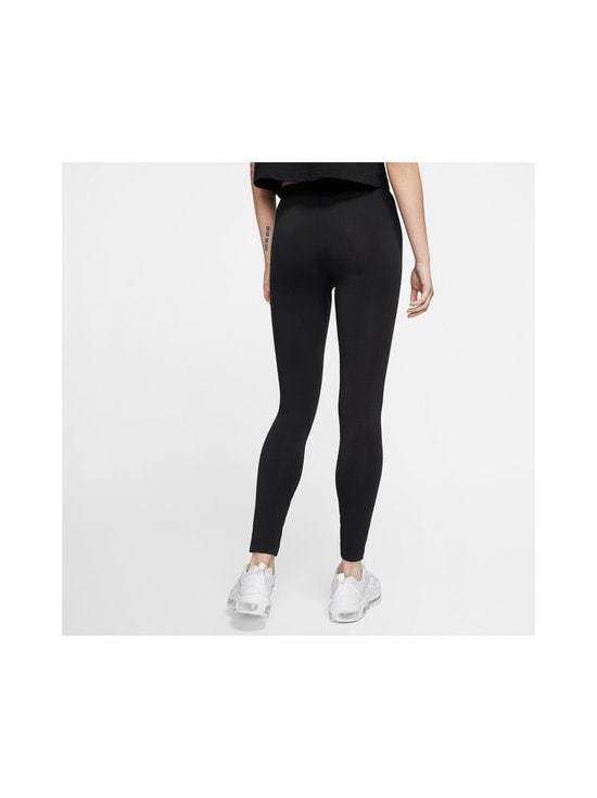 Nike - W Sportswear Club -leggingsit - 010 BLACK/WHITE | Stockmann - photo 4