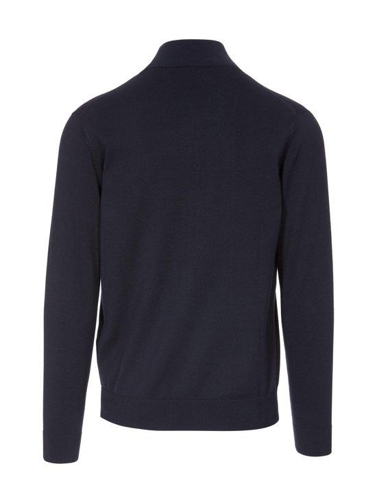 GANT - Classic Cotton Zip Cardigan -neuletakki - 433 EVENING BLUE | Stockmann - photo 2