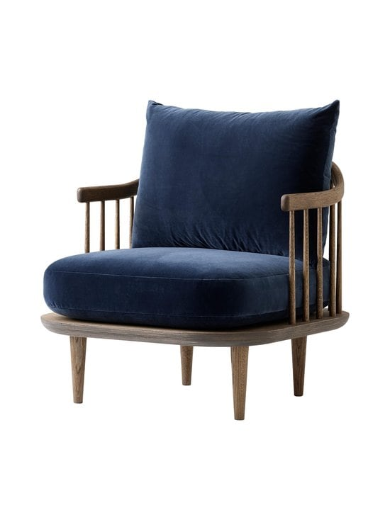 &tradition - Fly SC10 -tuoli - SMOKED OILED OAK / DARK BLUE | Stockmann - photo 1