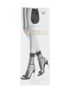 Oroblu - Petit 20 den -nilkkasukat - BLACK   Stockmann