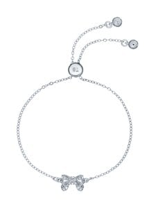 Ted Baker London - Carsaa Crystal Petite Bow Drawstring Bracelet -rannekoru - SILVER, CRYSTAL   Stockmann