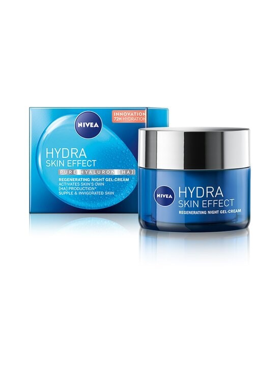 NIVEA - Hydra Skin Effect Regenerating Night Gel-Cream -yövoide 50 ml - NOCOL | Stockmann - photo 2