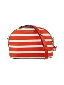 kate spade new york - Spencer Stripe Small Dome Crossbody -laukku - 812 TAMARILLO MULTI | Stockmann